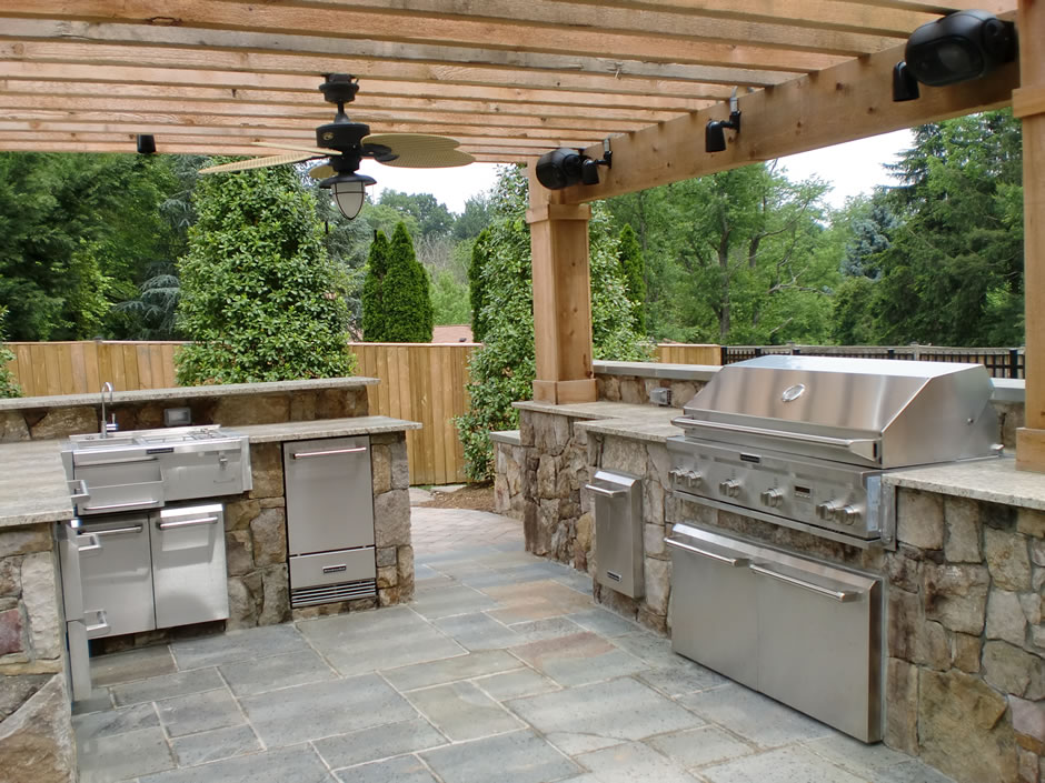 gallery outdoor kitchens dce polymers. Black Bedroom Furniture Sets. Home Design Ideas