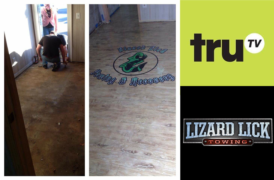 Decorative Concrete Epoxy: As Seen on TruTV