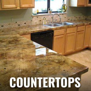 DCE Polymer Concret Epoxy Floor Countertops